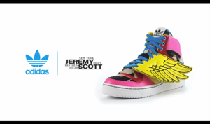 2NE1 x Jeremy Scott Collaborate for adidas Original JS Wings Video