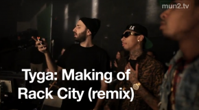 "Behind The Scenes Video Shoot with Tyga, Wale, and Fabolous on ""Rack City (Remix)"""